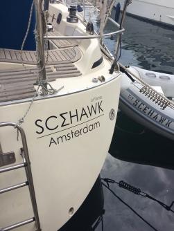 Rebranding the boat