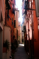 The streets of Corniglia