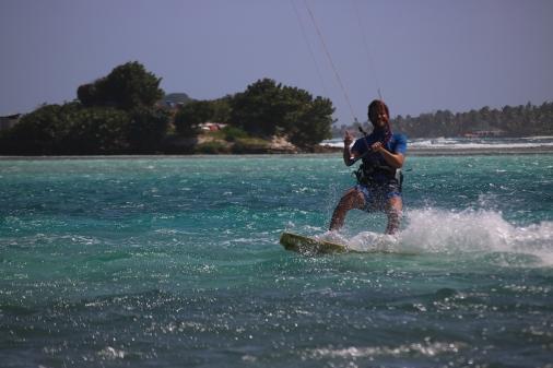 Kiting at Clifton