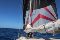 Sailing to Boqueron
