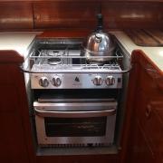 Gimble stove and oven