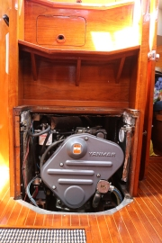 Yanmar engine front access