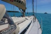 Starbord side deck