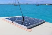 Two 85 W solar panels