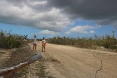 Unsuccessful hitchhiking to Codrington