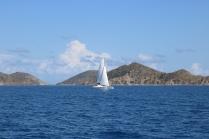 Sporty sailing of Media Luna