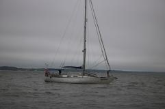 Matenka dropping anchor in near Yorkville