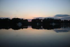 Ahh a calm anchorage