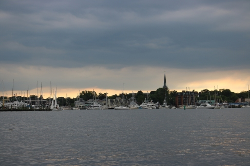 Annapolis and the town moorings