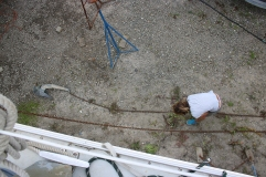 Untangling the anchor chain