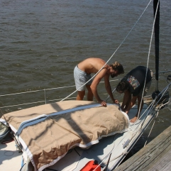 Dinghy wrapping